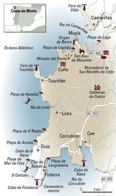 En coche por la Costa da Morte Más Best Places In Portugal, Hotels Portugal, Visit Portugal, Spain And Portugal, Portugal Vacation, Portugal Travel, Spain Travel, Moving On In Life, Secret Places