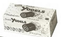 yodels...wrapped in foil...and for a short time, available in different combinations!