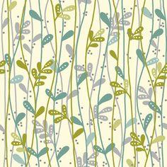 Makower UK - Deco Flowers - Leaf Stems in Teal