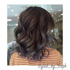 Grey Balayage Hair