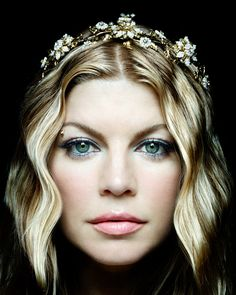Fergie by Platon. Love the tiara.