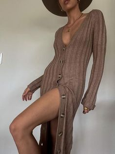 Longline Cardigan, Long A Line, Apple Cider, Bodysuit, Lady, Womens Fashion, Long Sleeve, Model