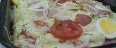 Foto - Receita de Massa de pizza de liquidificador