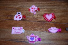 YOU CHOOSEFelt Embroidered Valentine's Day by lilibirdbowtique, $4.00