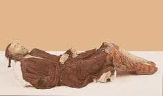 Cherchen Man is a mummy discovered in the Taklamakan Desert, in western China