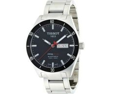 Tissot Men's PRS 516 Black Day Date Dial Watch ►► http://www.gemstoneslist.com/mens-watches/tissot-mens-watches.html?i=p