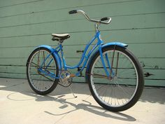 Girls Schwinn Bike 1950's