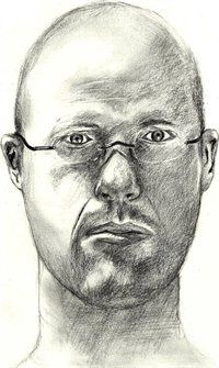 Self portrait sketch.