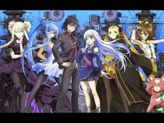 ( AMV ) Aoki Hagane no Arpeggio Ars Nova DC The Movie B Bird - YouTube