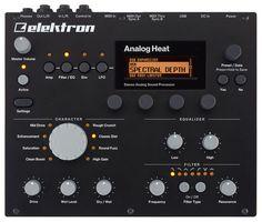 New Elektron Analog Heat Studio Gear, Drum Machine, Dj Equipment, You Sound, Interface Design, Audiophile, Envelope, Musical Instruments, Music Production