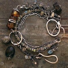 Baltic amber bracelet & labradorite, set of the two bracelets, handmade of oxidized 925 sterling silver, signed,© ewa lompe SUMMER SALE! 10 - 15 -20 % OFF 10% OFF when You spend US$50 ENTER the code SALE10 15% OFF when You spend US$130 ENTER the code SALE15 20% OFF when You spend US$270