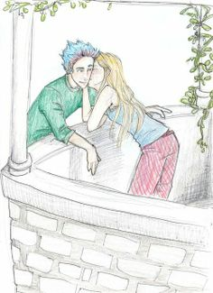Teddy and Victoire. Burdge's artwork