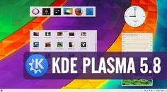 KDE Turning 20, Launches Plasma 5.8 LTS Desktop To Celebrate Its Birthday  #news
