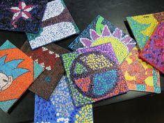 mosaic artist trading card - Google Search