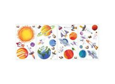 Muurstickers Outer Space