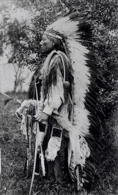 Esa Rosa (aka White Wolf), brother-in-law of Tabananica - Kwahadi Comanche - circa 1895