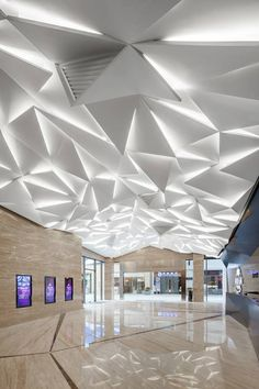 Modern Architecture House, Amazing Architecture, 3d Optical Illusions, Avenue Design, Interior Decorating, Interior Design, Entrance Doors, Flooring Ideas, Ceiling Design