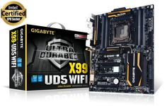 Ultra Durable Series Product details ➨ bit.ly/GA-X99-UD5-WIFI