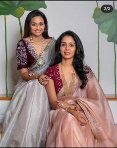 Pattu Saree Blouse Designs, Blouse Designs Silk, Saree Blouse Patterns, Bridal Blouse Designs, Dark Armpits, Indian Saris, Pakistani Fashion Party Wear, Long Dress Design, Stylish Blouse Design