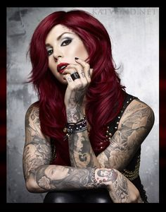 Kat Von D- tattoos---expression