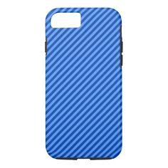 Dark Blue and Lighter Blue Stripes Pattern