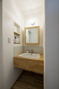 Natural Interior, Tiny House, Sink, Vanity, House Design, Mirror, Bathroom, Architecture, Simple