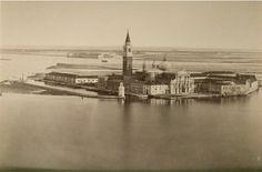 The Island of St. Giorgio Maggiore by Carlo Naya