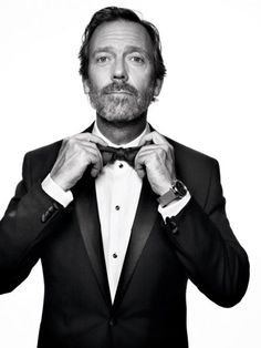 Hugh Laurie  Photo by Mark Seliger.