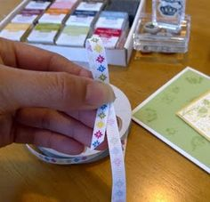 Paper Escape ~ Olivia Moore: Stampin'Up! Demonstrator Australia: How to Tie the Perfect Flat Bow