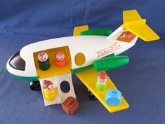 Fisher-Price Little People Jetliner... somebody in my life had this because I remember playing with it, hahahaa!