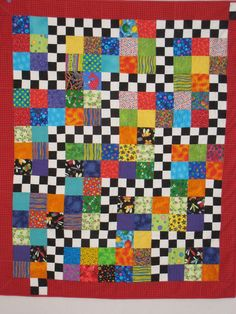 Finn asked on her blog, Pieces from my scrapbag , if we would post some scrap quilts over Memorial Day weekend. My guild has a huge collecti...