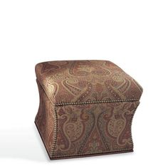 Florence Storage Ottoman - Chairs / Ottomans - Furniture - Products - Ralph Lauren Home - RalphLaurenHome.com