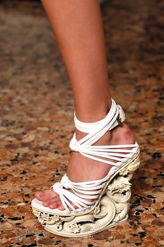 Emilio Pucci S/S '13 - do you believe these shoes!!!