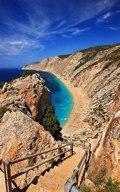 Platia Ammos Beach, Kefalonia Island, Greece