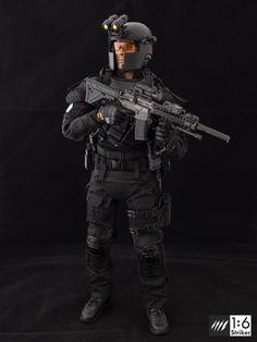 DAMTOYS Special Operations Center Glint Team Leader - Ryder Watson - 0037