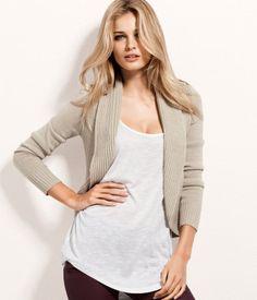 Shorter SN jacket, showing the waist: