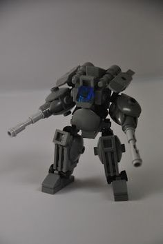 Mechs built from Legos For the game; Mobile Frame Zero.  XF-14 Copperhead : Designed by: Mitten Ninja.     Instructions Here: http://thor.divnull.com/pub/mf0/mittenninja-copperhead-xf14.pdf