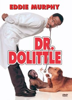 Eddie Murphy in Doctor Dolittle 1990s Movies, Childhood Movies, Comedy Movies, Family Movie Night, Family Movies, See Movie, Movie Tv, Eddie Murphy Movies, Dr Dolittle