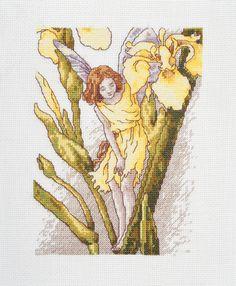 Iris Fairy Cross Stitch