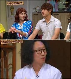 Comedian Yoo Sang Moo is most scared of his best friend Yoo Sae Yoon?