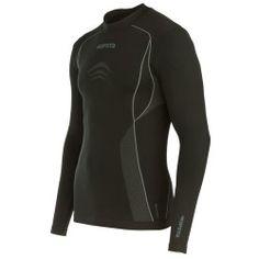 Camiseta térmica transpirable mangas largas adulto Keepdry 500 negro