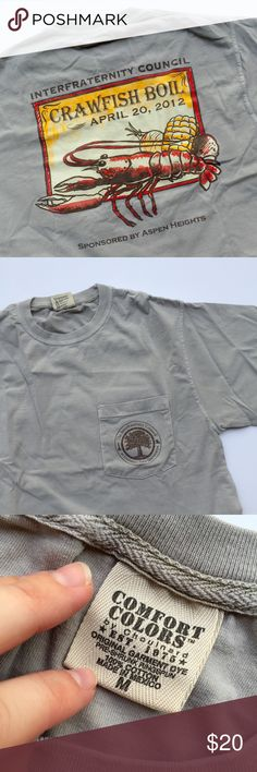 c1027a404ca Crawfish Boil T-Shirt. Comfort ColorsLsuTee ...
