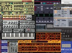 Synths, mixing and creative effects, samplers and utilities