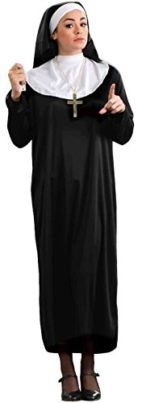 Forum Novelties Womens Plus-Size Nun Plus Size Costume Tag someone who should wear this! #Funny #Halloween #Costume