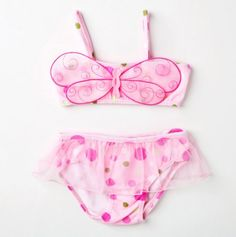 How Sweet Adorable Girls Dragonkini Swimsuit with a tutu type bottom Baby Sister, Girly Girl, Cute Kids, Bathing Suits, To My Daughter, Baby Kids, Kids Outfits, Kids Fashion, Baby Bunting