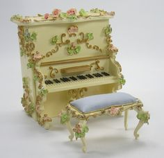 Rococo childrens music box toys I found in Italy