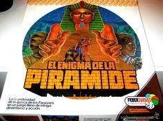El Enigma de la Piramide - Juego de Mesa Años 80 MUY DIFÍCIL DE ENCONTRAR. LEER DESCRIPCIÓN - Foto 1