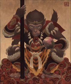 monkey king | Classic Indian Monkey King Tale Vs Modern India ~ Devil's Blog On ...