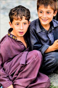 Pakistan     -Little boys by ShaukatNiazi, via Flickr