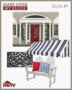 Repin to vote for Make Over My Block Design Style 1 http://www.hgtv.com/make-over-my-block/package/index.html?soc=pinterest